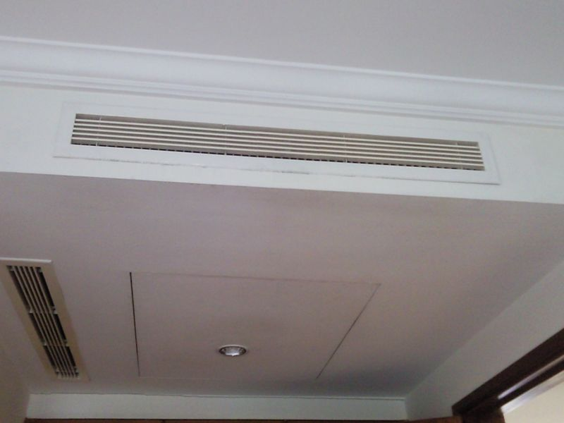 Linear Return Grilles : Airconditioning roosters en diffusers lineaire terugkeer