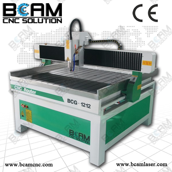 Jade carving cnc router machine price BCG 1212 with the working area 1200*1200mm
