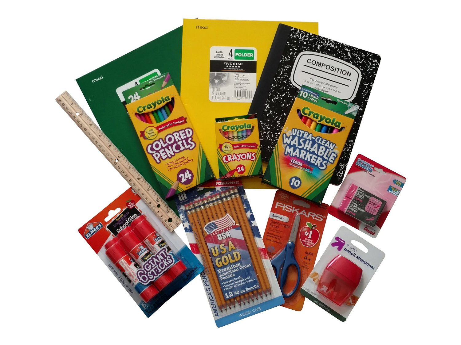 Back-to-School Elementary Supply-Success Essentials Bundle- 12 items
