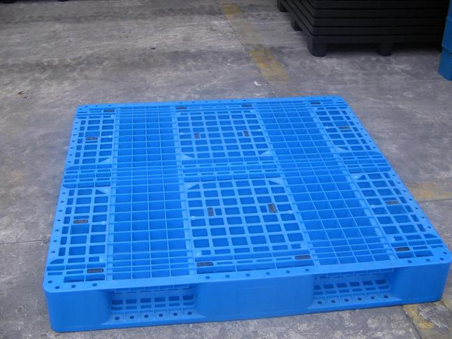 1500 mmx1200 mm Grid Double Sided HDPE Plastic Pallet