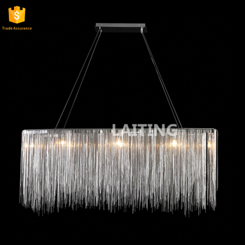 Clear K9 Crystal Chandelier Dining Room