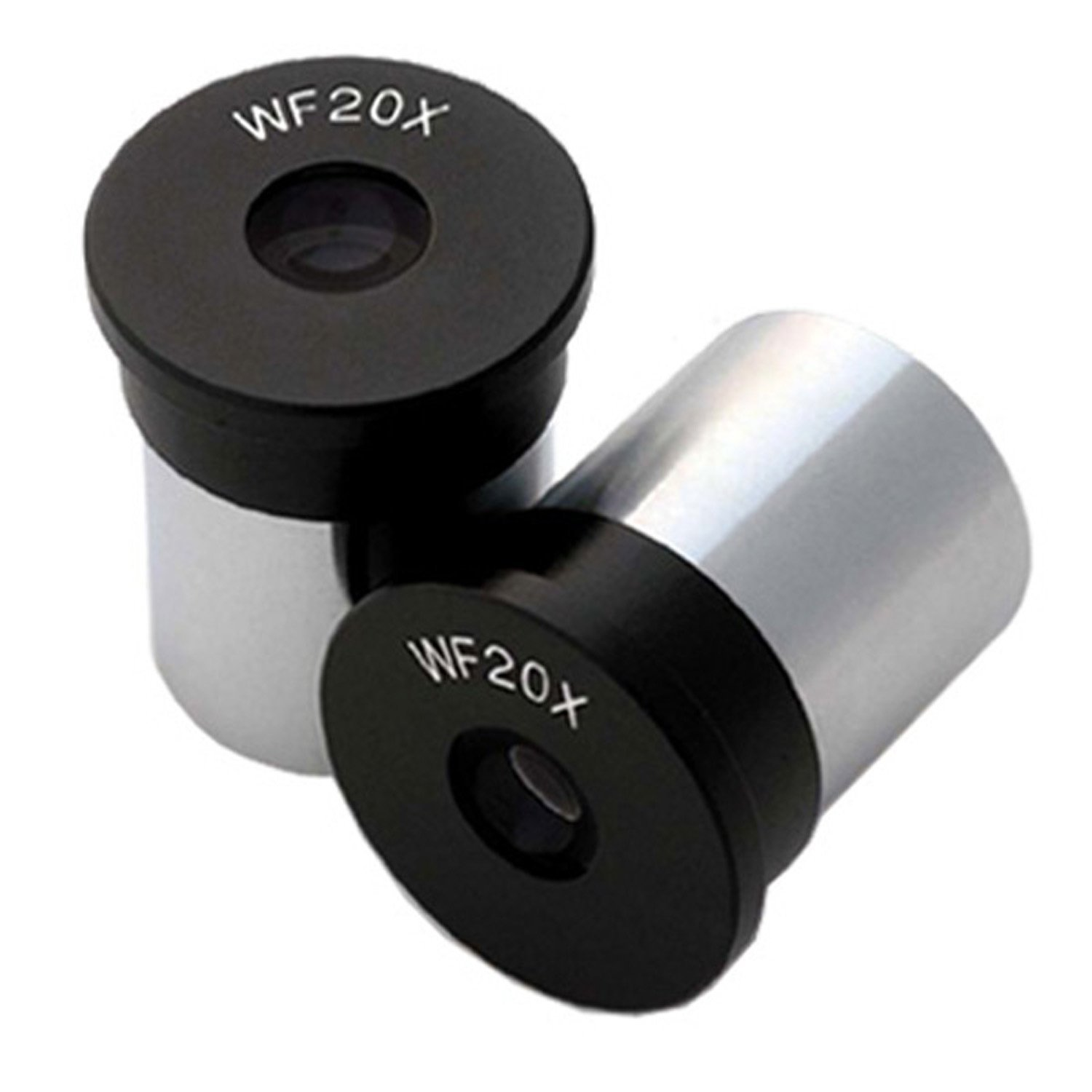 MIKO Pair of WF20X Microscope Eyepieces (23mm)