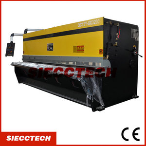 SIECCTECH QC12Y-4X2500 Hydraulic bosch cutting machine, guillotine shear, license plate making machine