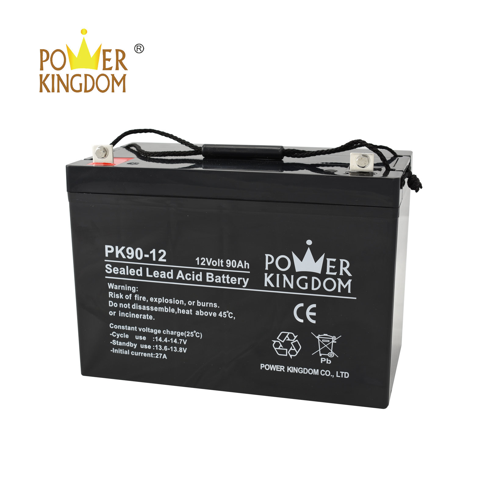 Power Kingdom advanced plate casters gel battery charging voltage factory price Automatic door system