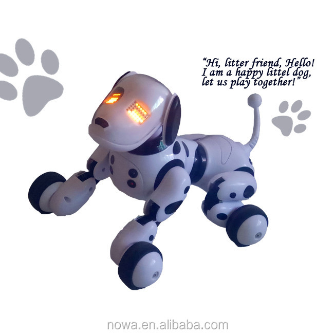 2017 New Style Remote Intelligent Robot Toy Dog With Voice And Music
