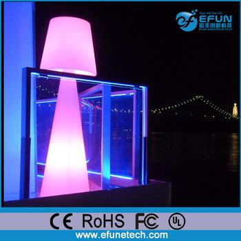 Led Decorative Mood Floor Light Waterproof Mushroom Battery Lamp