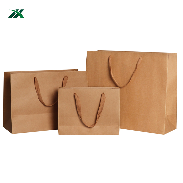 Hot sale different size eco friendly safe sandwich paper bags for fast food packaging