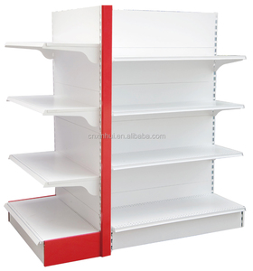 Combined cold rolled steel supermarket grocery store display racks gondola supermarket shelf