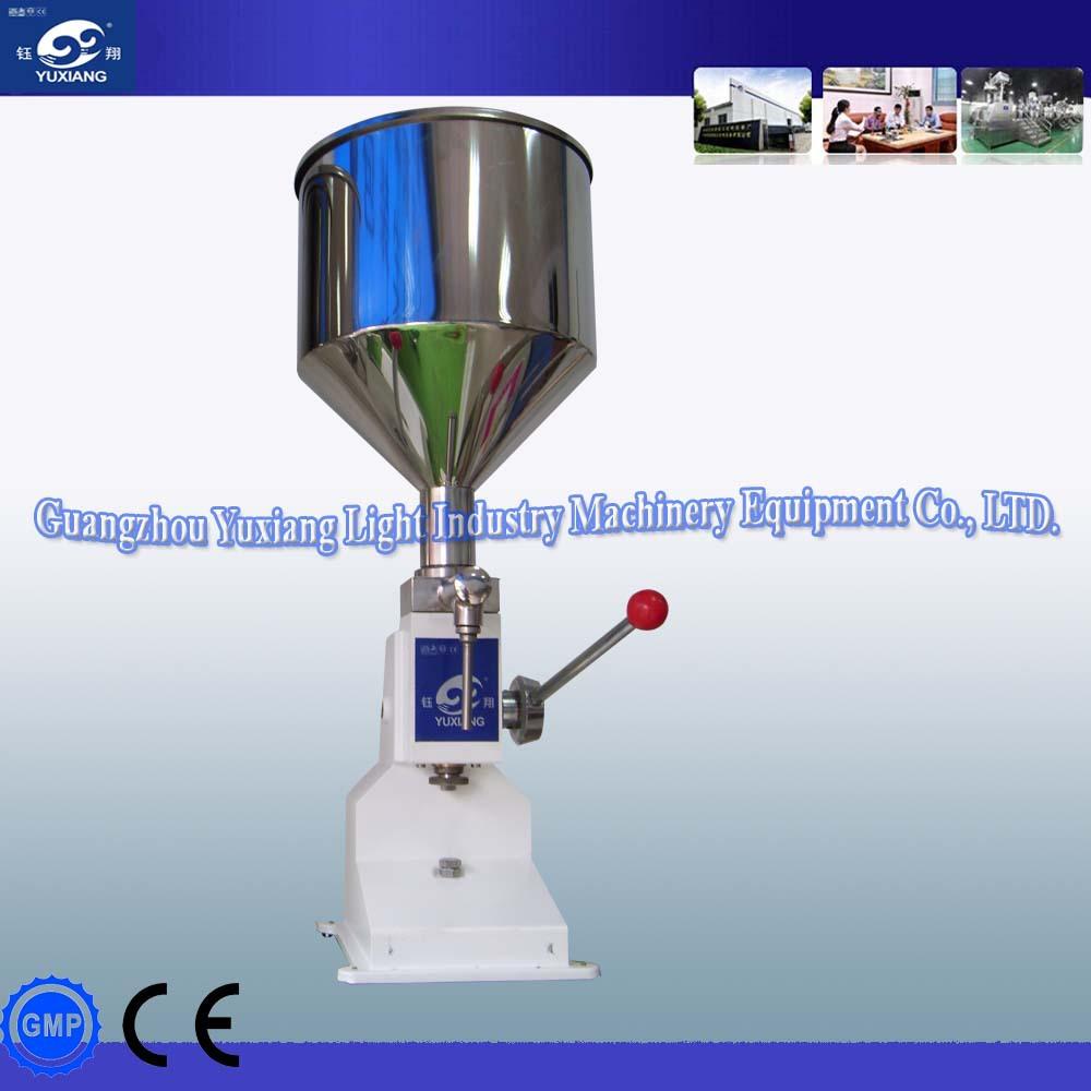 manual lotion filling machine