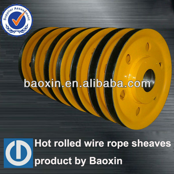 Hot Rolled Steel Sheaves,Wire Rope Sheaves For Mining Machines ...