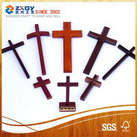 Catholic Wooden Cross, Decorative Wooden Cross, Wooden Wall Cross