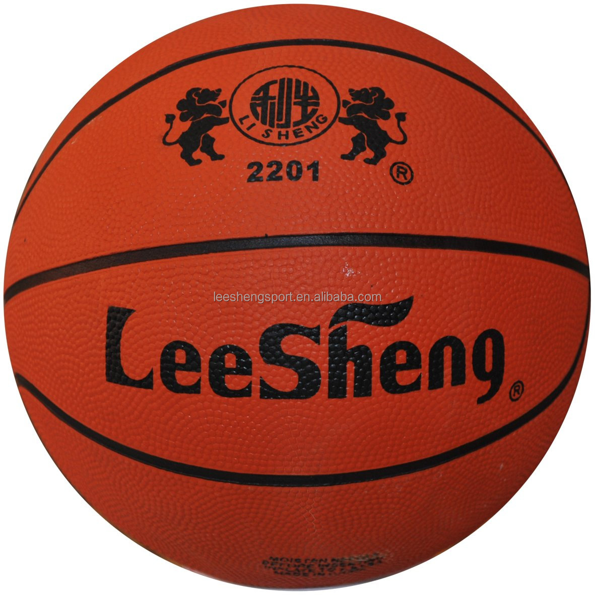Good quality and cheap rubber basketball