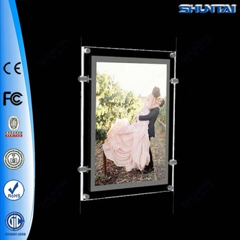 A3 Size Backlit Poster Insert Clear Acrylic Picture Frames - Buy ...