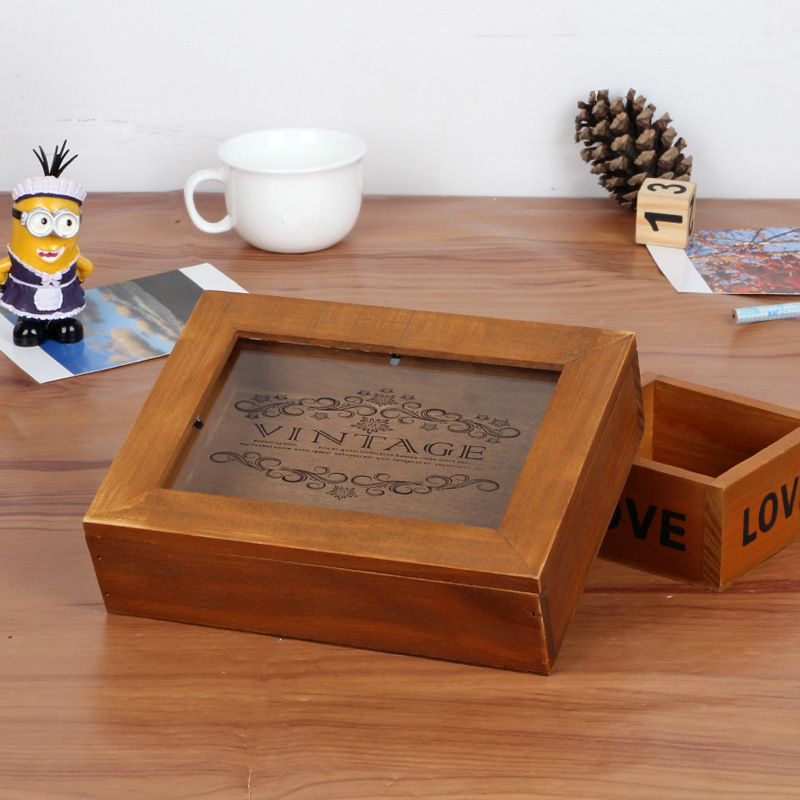 How To Make A Decorative Wooden Box: Decorative Storage Boxes With Lids Promotion-Shop For
