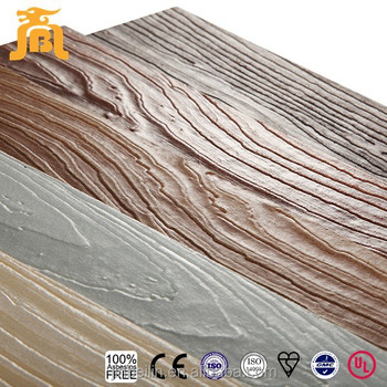 Fiber Cement Exterior Wall Panel Board Wood Grain