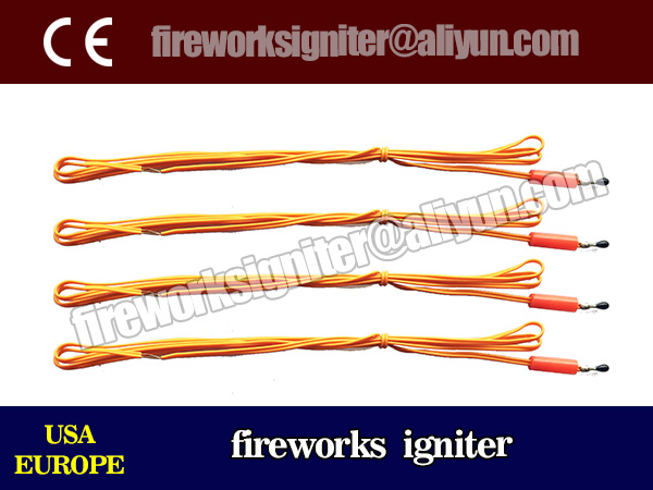 electric igniter for fireworks display/wholesale 1m fireworks igniter 3000pcs/China fireworks/safety fuse/electric igniter