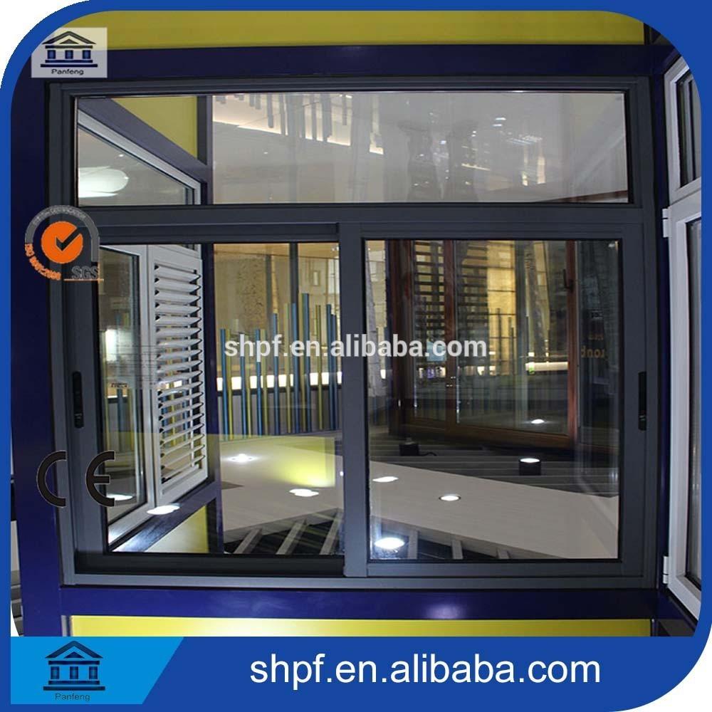 Moda correderas de aluminio perfil ventanas y puerta-Ventanas ...