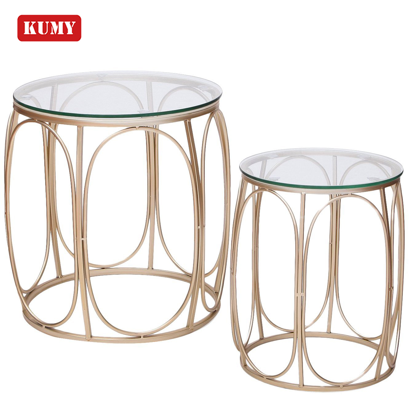 Alibaba Beautiful 2 Pieces Modern 10mm Tempered Glass Gold Iron Wire Base Coffee Table Set Table Basse Buy Alibaba Coffee Tablegold Coffee