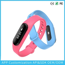 New 2016 Bluetooth Full Smart Bracelet Sync Wrist LED Digital Watch with Vibrate can answer phone for Smart phone gift