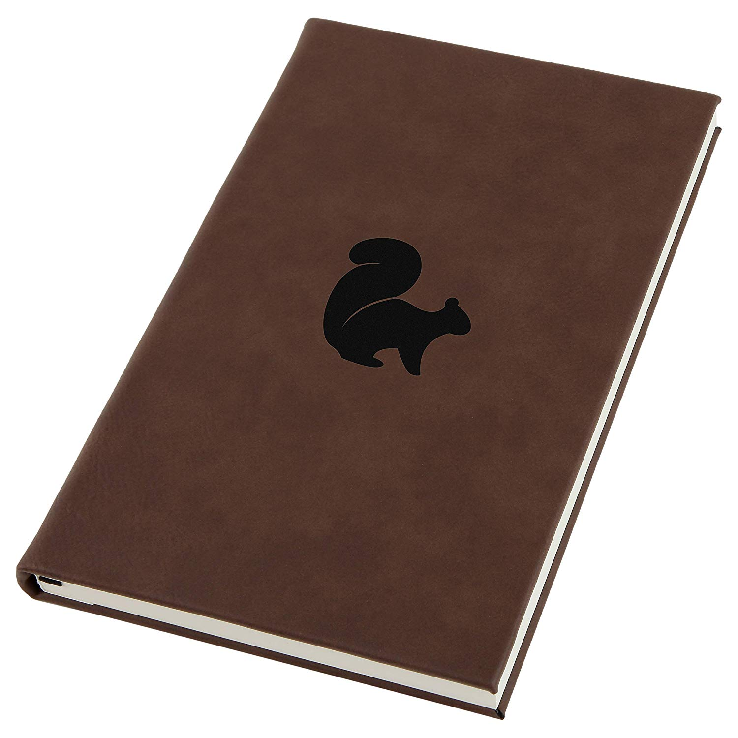 Flying Squirrel Engraved A5 Leather Journal, Notebook, Personal Diary