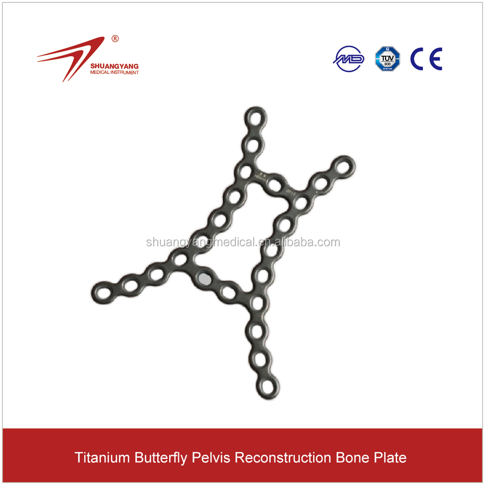 Titanium Hip Implants For Butterfly Type Pelvis Reconstruction ...