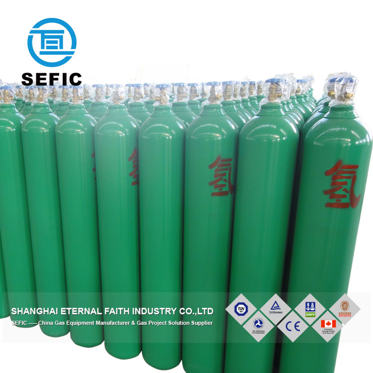 Argon/oxygen/hydrogen gas cylinder industrial gas good price