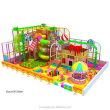 China manufacture kids play center indoor playground design