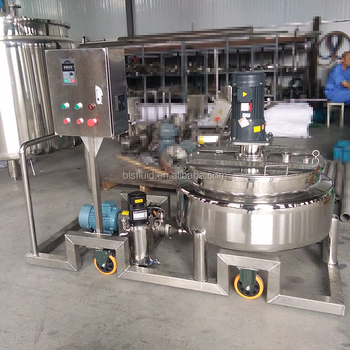 steel electric heating jacket high viscosity mixer