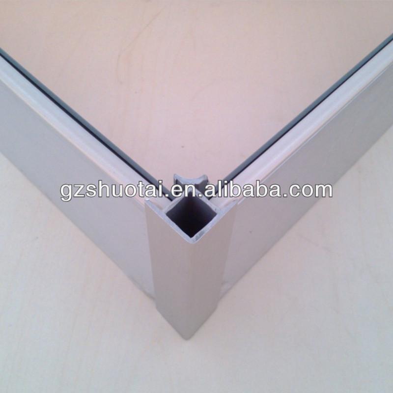 pvc-sockelleiste ecke, 90-grad-winkel, sockelleisten aus aluminium ... - Küche Sockelleiste Eckverbindung