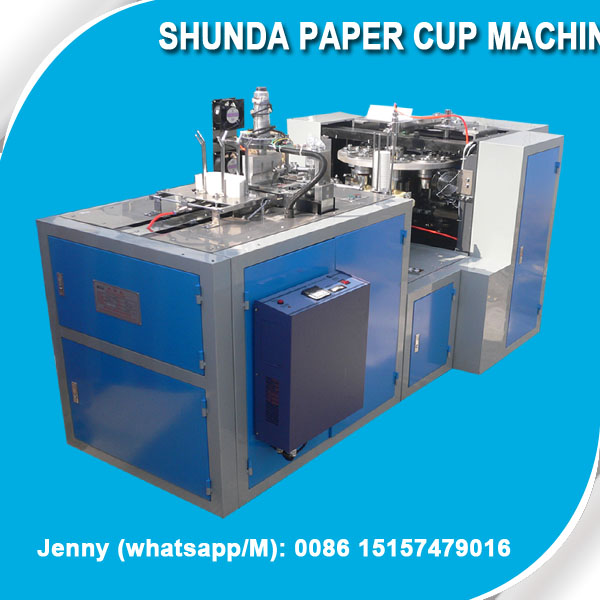 paper cup making machine for coca colar paper Cup for KFC paper Cups with Evergreen utrasonic