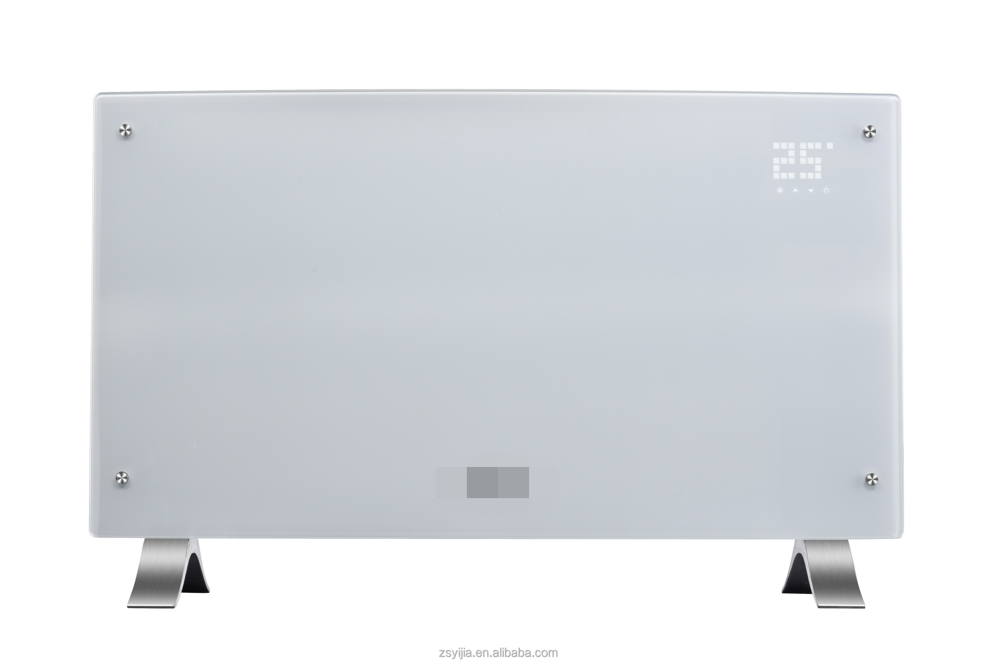 ECO curved glass tempered electric heater panel picture