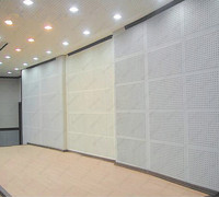 Noise Absorbing Material Soundproof Peg Board Wooden Perforated Acoustic Panel