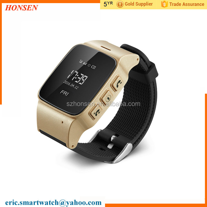 Smart GPS Tracker Watch Phone for Adult Safety Care Watch for Parents/Olds
