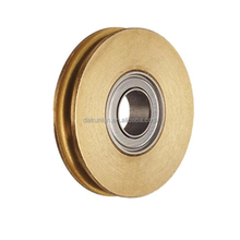 Precision Motion Control Groove Brass Pulley