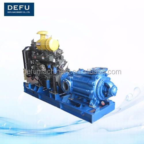 8 Inch Diesel Engine Driven Water Pump For Irrigation