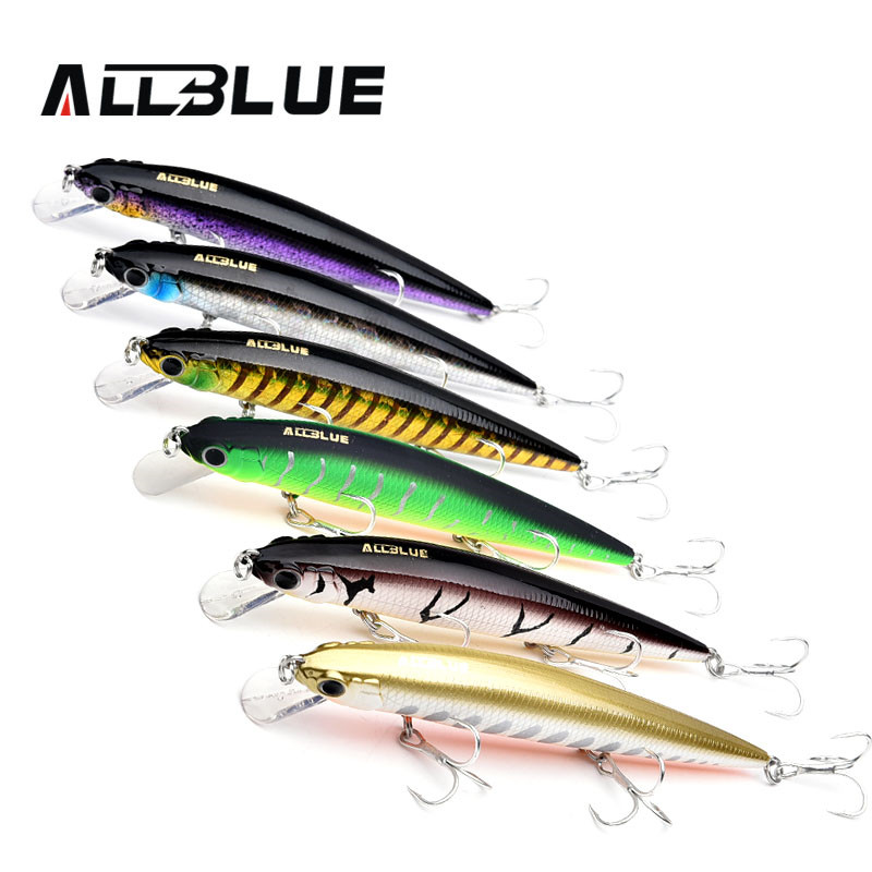 ALLBLUE Hot Selling <strong>Fishing</strong> Wobbler 14.2g 110mm Floating Minnow Bass <strong>Fishing</strong> Lures With 3D Eyes Peche Isca Lure <strong>Fishing</strong>