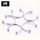 Nose Septum Hoop Lip Rings Circular Barbell Horseshoe Ear Tragus Helix Earrings For Unisex Jewelry