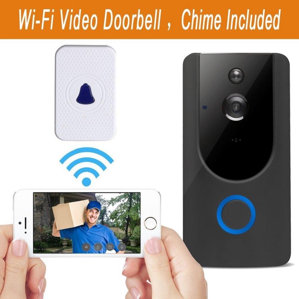 wireless smart türklingel 720 p hd wifi video security türklingel