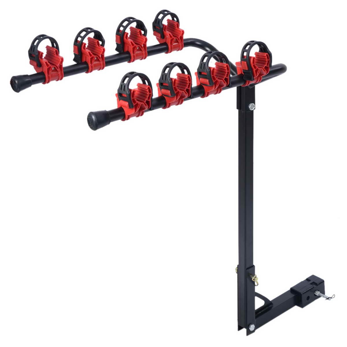 Swagman Titan 4 Bike Two Arm Fold Down Rack 2 Inch And 1 64029 Hitch Pin
