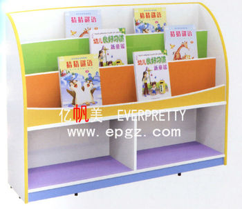 Kids Bookcase Wooden Bookshelf Children
