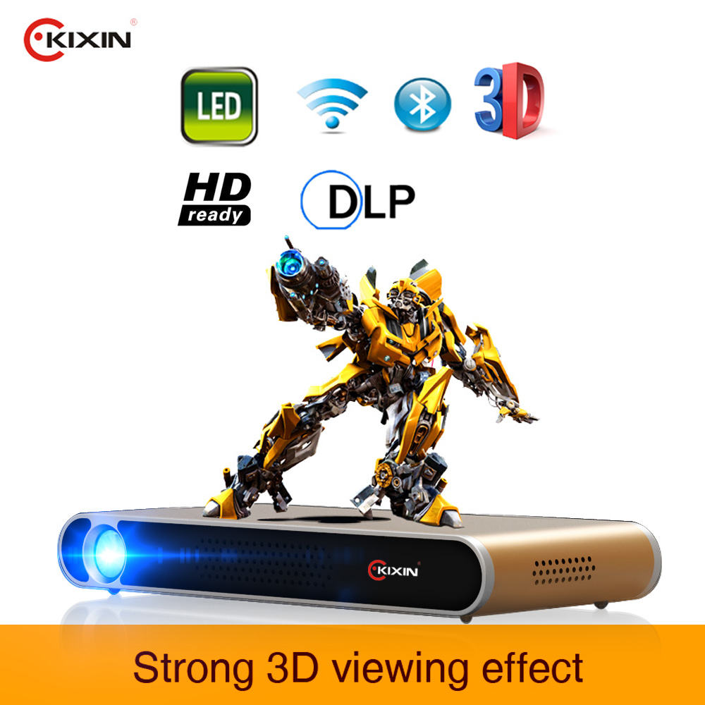 2017 Trending Products Android 4.4 720p full hd video download projector