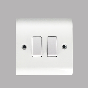 2GANG 1WAY/2WAY ELECTRIC WALL SWITCH SOCKET 220V WITH LIGHT