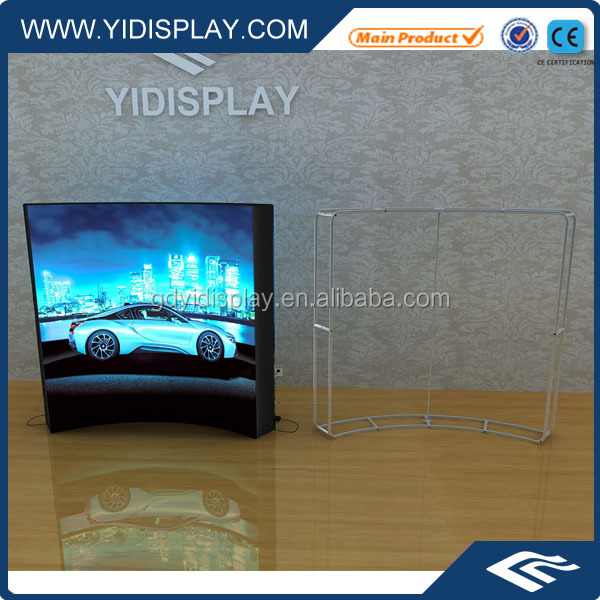 Flex design board samples / outdoor advertising digital display fabric screen