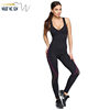 Women's Sexy Hollow Back One-Piece Jump Suit Workout Bodysuit