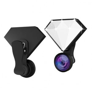 2018 Creative Products RK30 Diamond Design Selfie ring Fill Light Cell Phone Camera Lens for iPhone X 8 Live Stream Beauty Light