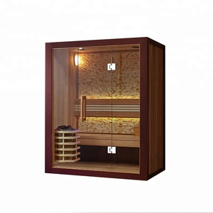 SM81407 Family home massage full body relax sauna dry steam room