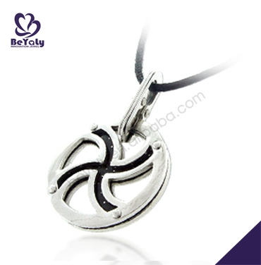 Stainless steel or titanium necklace custom wholesale pendant bails