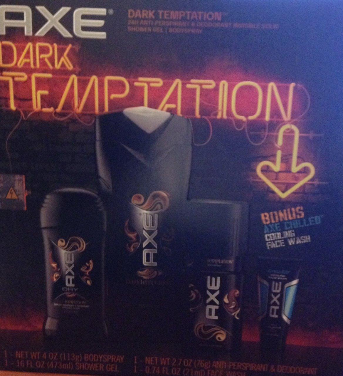 Cheap Axe Dark Temptation Gift Set Find Deodorant Bodyspray Gold 150ml Twin Pack Get Quotations Body Wash