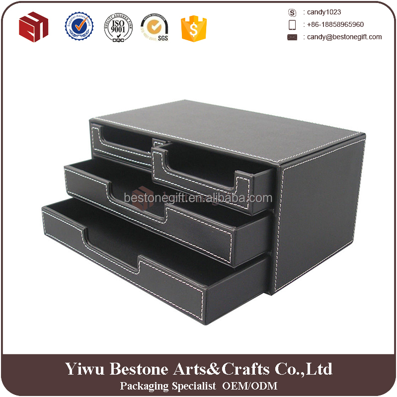 high quality office Storage Products Desktop storage box with drawer