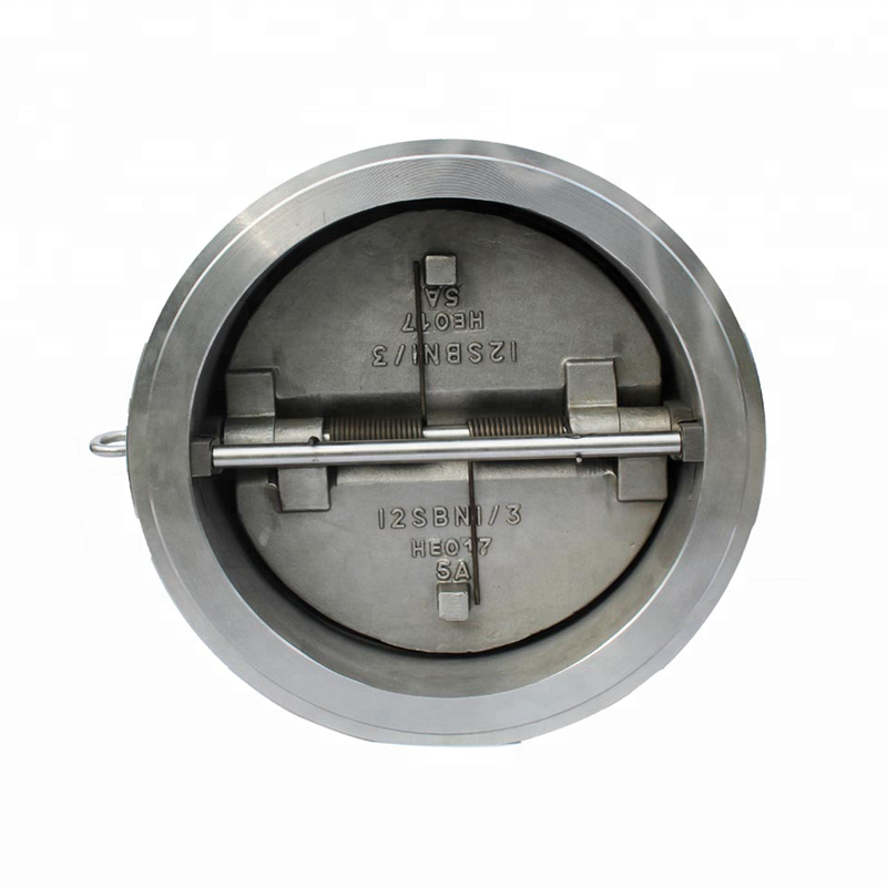 DN300 150LB Super Duplex 2507 Wafer Dual Plate Check <strong>Valve</strong> Sea Water Duo Check <strong>Valve</strong>